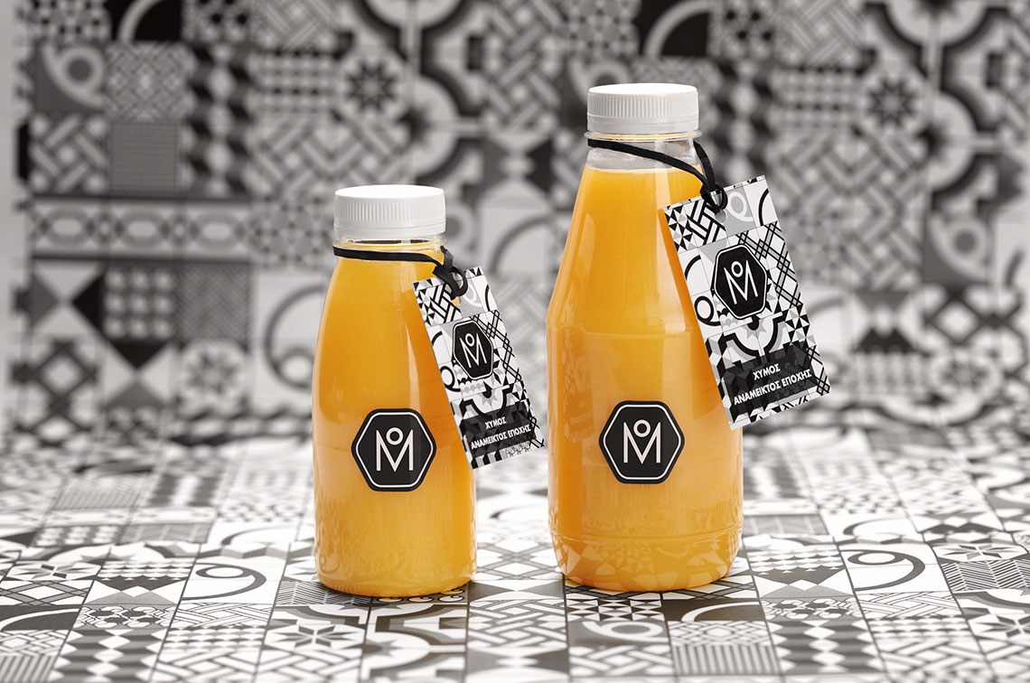 Meliartos Brand Identity Packaging Bottles