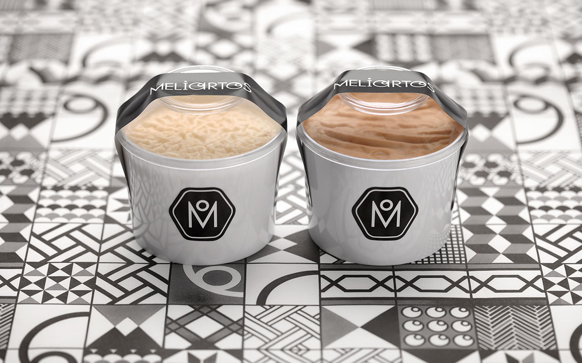 Meliartos Brand Identity Packaging cream